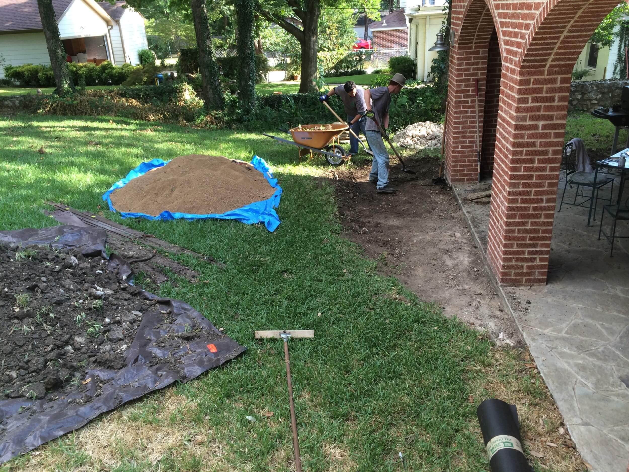 Flagstone Work